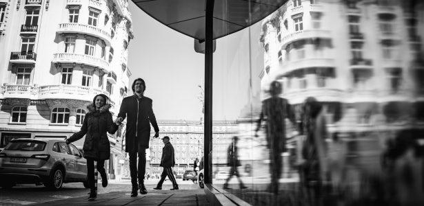 Етюд : Отражения в градска среда