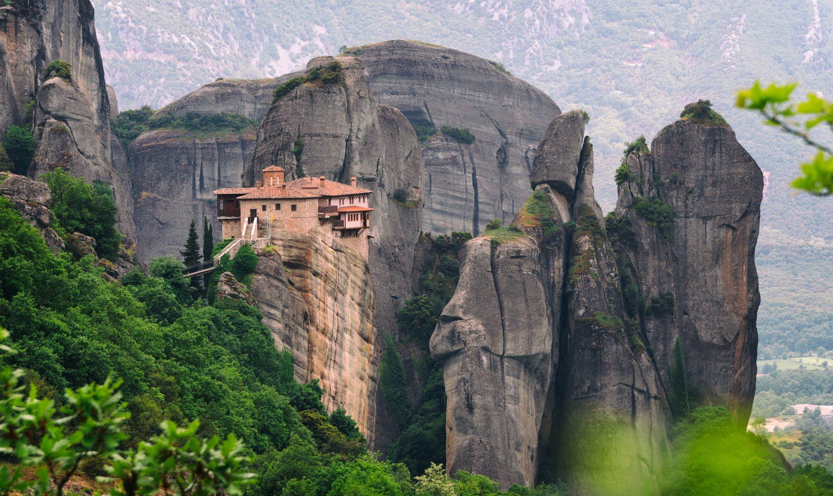 Метеора, Гърция, манастир