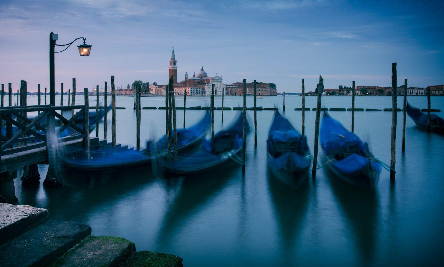 Венеция, Италия, лодки