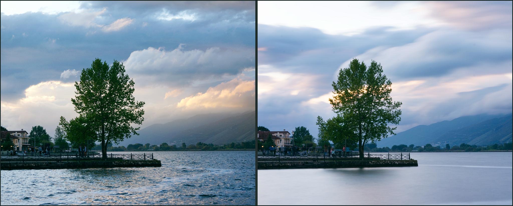 снимки на вода